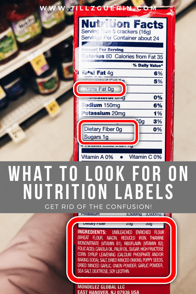 What To Look For On Nutrition Labels
