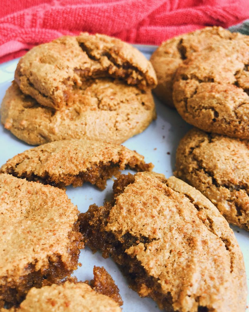 Soft And Fudgy Gingerbread Cookies: Super soft, super fudgy and made with only simple, healthy ingredients. #healthygingerbread #gingerbread | www.jillzguerin.com