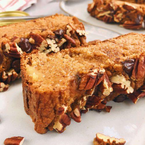 Maple Sweet Potato Bread: Gluten-free, dairy-free, refined sugar-free and so moist and delicious. #healthydessert #healthybaking | www.jillzguerin.com