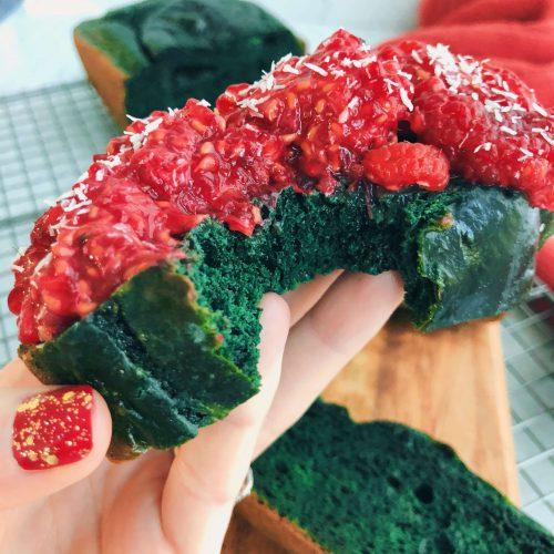 Healthy Green Bread: A unique, wholesome bread with a fun twist! #healthybaking #funbaking | www.jillzguerin.com