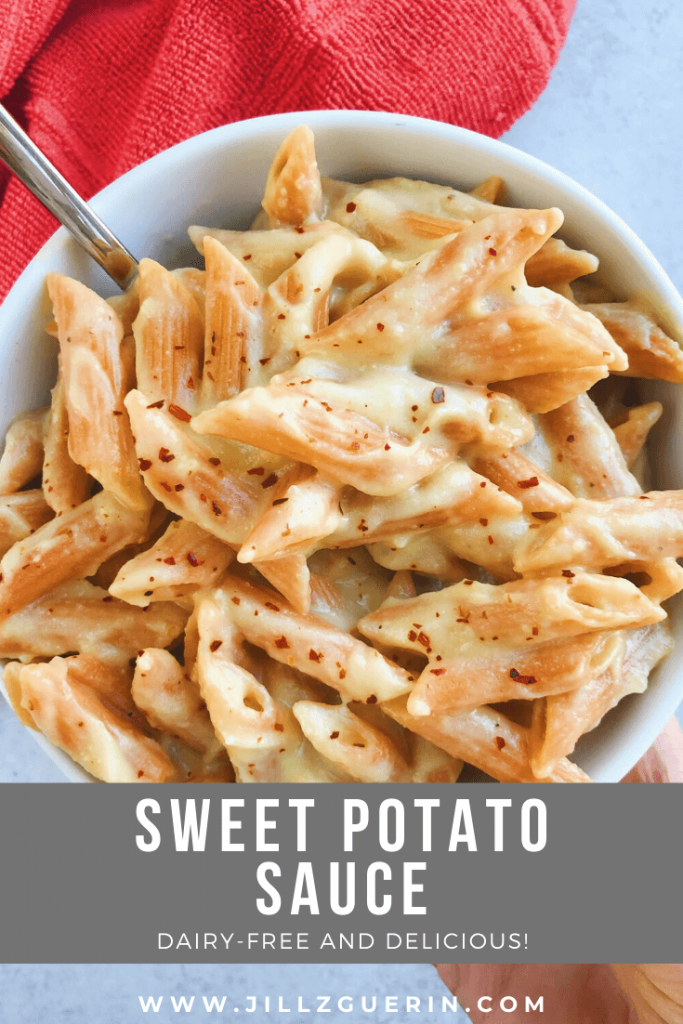 Sweet Potato Sauce: If you love sweet potato as much as me, you need to try this sauce! So simple, clean and healthy. #healthysauce | www.jillzguerin.com